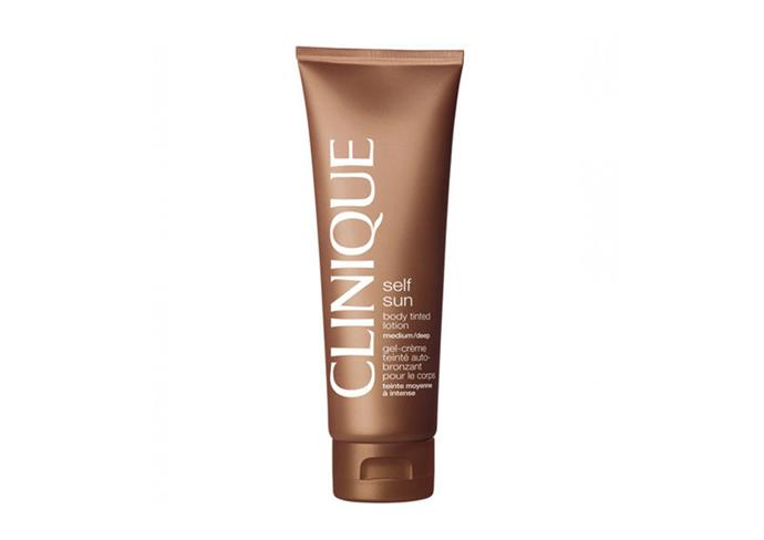 "Body Tinted Lotion by Clinique, $40 at [Myer](https://www.myer.com.au/shop/mystore/39735?|target=""_blank""