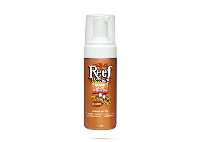 "Beach Glow Instant Spray Tan in Bronze 150g by Reef, $5 at [Priceline](https://www.priceline.com.au/reef-beach-glow-instant-spray-tan-in-bronze-150-g|target=""_blank""