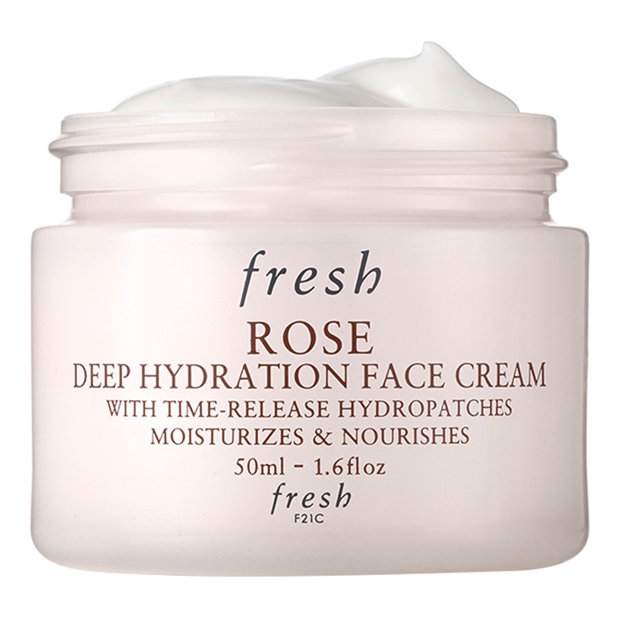 "Sometimes moisturisers can go in too strong and leave your skin feeling clogged, Fresh's face cream uses ""time-release technology"" which slowly releases much-needed moisture over a period of time.<Br><br> Rose Deep Hydration Face Cream by Fresh, $56 at [Sephora](https://www.sephora.com.au/products/fresh-rose-deep-hydration-face-cream-50ml/v/default
