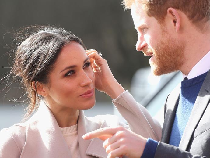 Find someone that looks at you like the Duchess of Sussex looks at her Duke.