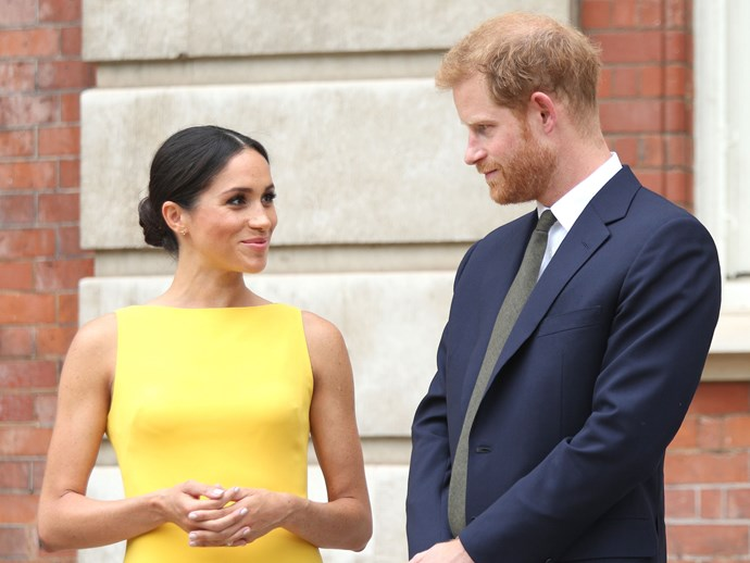 We're thinking that Prince Harry is feeling real proud to call Markle his wife in this very moment.