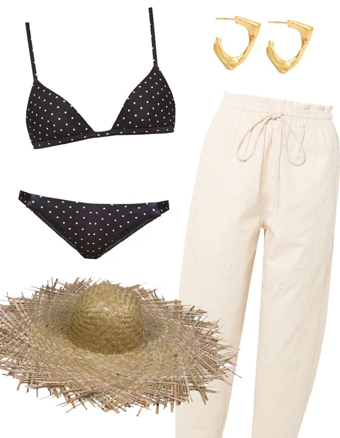 """Our recommendations: Bikini [top](https://www.matchesfashion.com/au/products/Matteau-The-Petite-Triangle-bikini-top-1135510