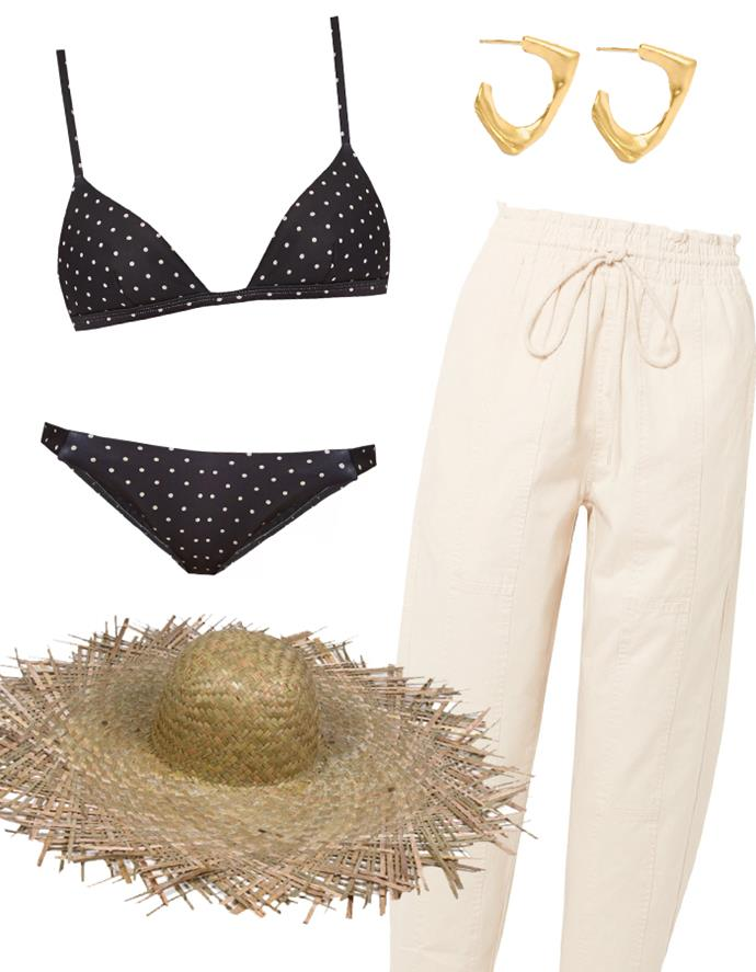 "Our recommendations: Bikini [top](https://www.matchesfashion.com/au/products/Matteau-The-Petite-Triangle-bikini-top-1135510|target=""_blank""