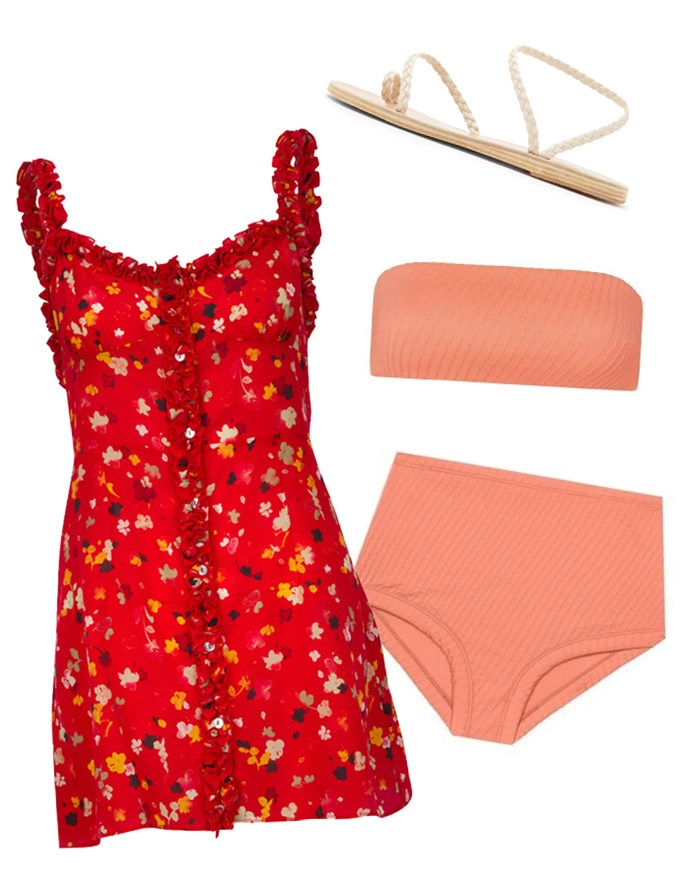 "Our recommendations: Dress, $294 at [Realisation Par](https://realisationpar.com/the-julia-rouge-fleur/|target=""_blank""