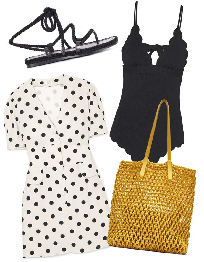 """Our recommendations: Dress by Rixo London, $363 at [Net-a-Porter](https://www.net-a-porter.com/au/en/product/1047133/rixo_london/laura-polka-dot-crepe-mini-dress