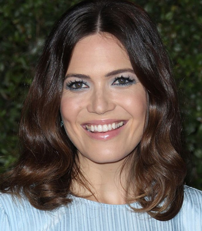 **Pastel Blue** <br><br> **Red carpet**: Mandy Moore