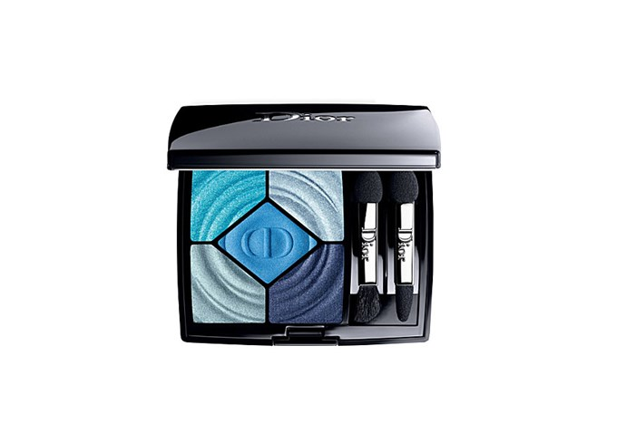 """5 Couleurs Cool Wave eyeshadow palette by Dior, $107 at [Myer](https://www.myer.com.au/shop/mystore/dior-beaute-dior-diorshow-5-couleurs-367-cool-down