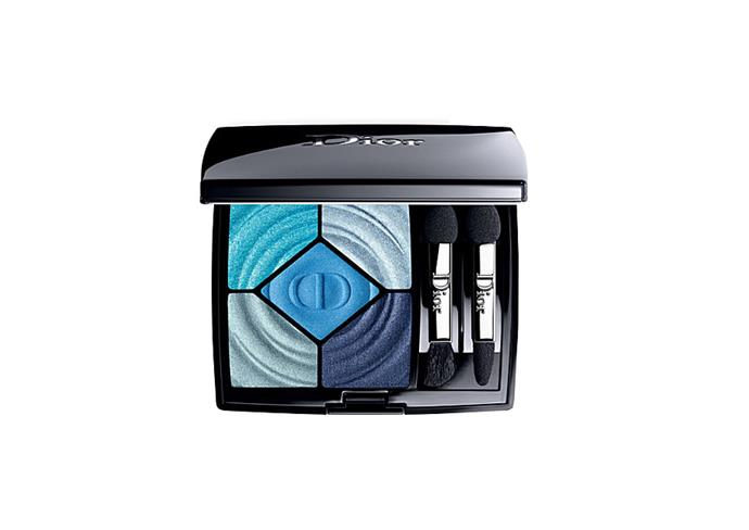 "5 Couleurs Cool Wave eyeshadow palette by Dior, $107 at [Myer](https://www.myer.com.au/shop/mystore/dior-beaute-dior-diorshow-5-couleurs-367-cool-down|target=""_blank""