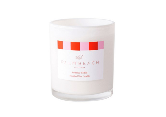 "**Summer bellini christmas standard candle by Palm Beach, $40 at [Palm Beach Collection](https://palmbeachcollection.com.au/product/limited-edition-christmas-2018-summer-bellini/|target=""_blank""