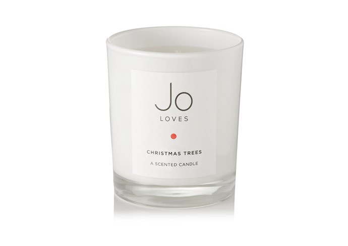 "**Christmas Tree scented candle by Jo Loves, $93 at [Net-A-Porter](https://www.net-a-porter.com/au/en/product/876790|target=""_blank""