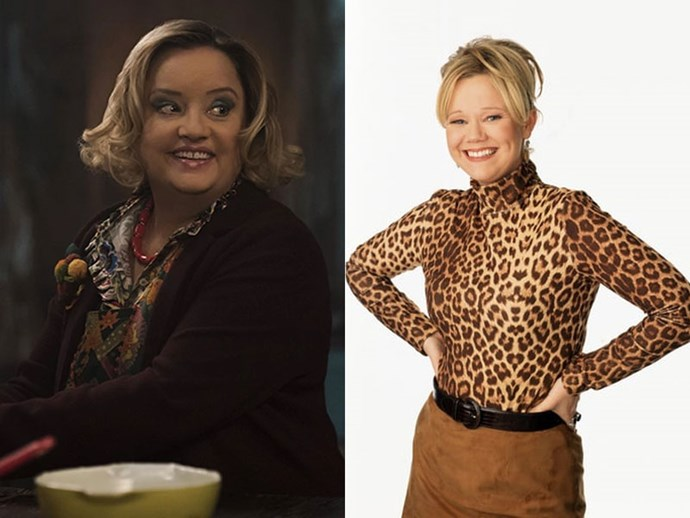 **HILDA SPELLMAN** <br>  While Caroline Rhea's portrayal of the character in *Sabrina The Teenage Witch* was a little more forgiving, and a lot more, well, nuts, Lucy Davis' Hilda Spellman (Lucy Davis) sounds to be a little more disturbed than the sitcom's zany portrayal. <br><br> Giving us a peek into her unsuspecting dark past throughout the series, this rendition on Hilda's character sounds to be more complex than first thought. That being said, she still rings true to her title of sweetest Spellman aunt.