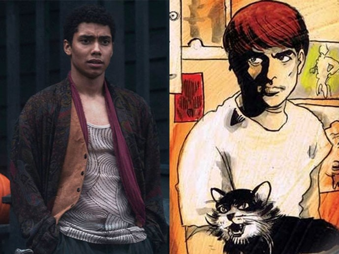 "**AMBROSE SPELLMAN** <br>  Unlike the previous characters mentioned—who are being brought back to life in the Netflix's adaptation—the character Ambrose Spellman (played by Chance Perdomo) instead originates from executive producer, Roberto Aguirre-Sacasa's, 2014 comic book rather than the '90s series.  <br><br> As reported by [*Variety*](https://variety.com/2018/tv/news/sabrina-the-teenage-witch-series-netflix-chance-perdomo-michelle-gomez-1202700961/|target=""_blank""