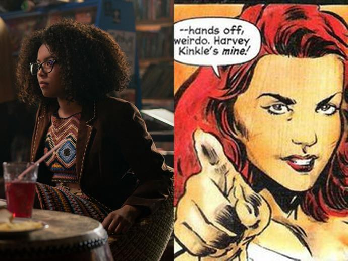 "**ROSALIND WALKER** <br>  Also having their basis in Sacasa's comic rather than the TV series is the character of Rosalind Walker, Sabrina's best friend at Baxter High. <br><br> Detailing her character specifics, [*The Hollywood Reporter*](https://www.hollywoodreporter.com/live-feed/riverdale-spinoff-casts-sabrinas-best-friend-1081547|target=""_blank""