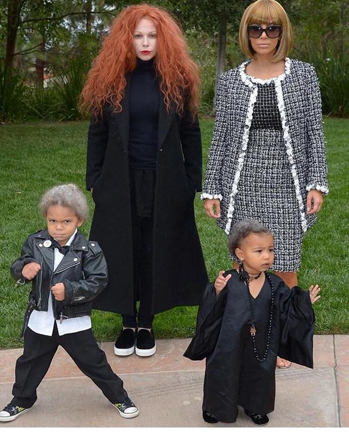 "Kim Kardashian West embodied Anna Wintour in 2014, while friend Joyce Bonelli embodied Grace Coddington.  <br><br> *Image: [@kimkardashian](https://www.instagram.com/p/BMKRjNfAV-k/?utm_source=ig_embed&utm_campaign=embed_loading_state_control|target=""_blank"")*"