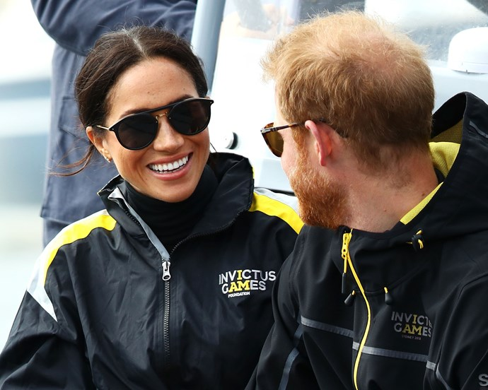 """***Their eye-locking*** <br> Prince Harry's constant eye-locking with his wife is reportedly an instinctive trait of expectant husbands, out of protection for their wives and children—or in this case, *future* children.  <br><br> Judi James told [*Mirror*](https://www.mirror.co.uk/3am/celebrity-news/prince-harrys-anxiety-over-meghan-13447860