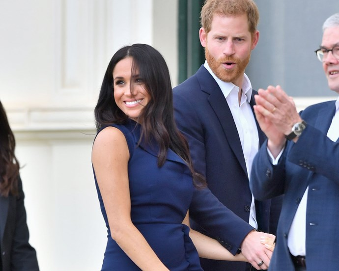 """***Their hand-holding style*** <br> Body language experts also think the couple's unique, firm hand-holding style is a testament to their strong bond. Dr. Lillian Glass told [*HollywoodLife*](https://hollywoodlife.com/2018/10/20/prince-harry-double-hand-holding-meghan-markle-shows-true-love-body-language-expert-speaks/
