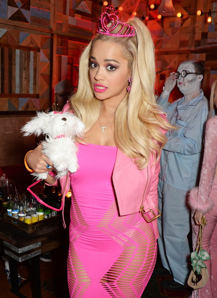 ***ARIES: Barbie*** <br><br> Aries (generally) live for all things pink, bubbly and effervescent, and who sums that up better than Barbie? Rita Ora's 2014 Halloween costume did justice for all the Mattel-obsessed girls.