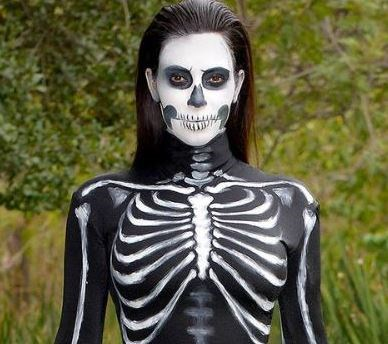 """***TAURUS: Full-on creepy*** <br><br> Tauruses are known to take Halloween very seriously, and go hard or go home when it comes to making their costume the *pièce de résistance* of the party. For full-on creep-chic, look no further than [Kim Kardashian West](https://www.elle.com.au/fashion/kim-kardashian-bike-shorts-red-carpet-los-angeles-18057