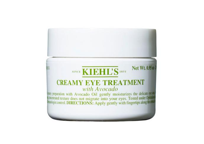 "**Creamy Eye Treatment with Avocado by Kiehl's, $44 at [Myer](https://www.myer.com.au/shop/mystore/creamy-eye-treatment-with-avocado-823074320-823075580|target=""_blank""