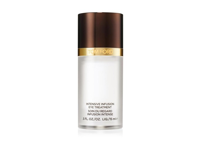 """Intensive Infusion Eye Treatment by Tom Ford, $205 at [David Jones](https://www.davidjones.com/intensive-infusion-eye-treatment-15ml-20227544