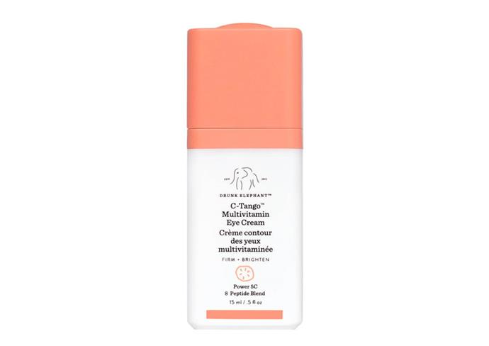 "**C-Tango Multivitamin Eye Cream by Drunk Elephant, $93 at [Mecca](https://www.mecca.com.au/drunk-elephant/c-tango-multivitamin-eye-cream/I-032601.html|target=""_blank""