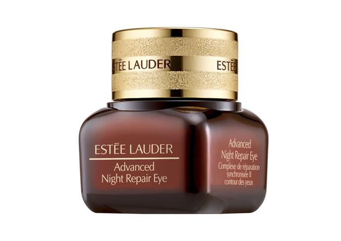 "**Advanced Night Repair Eye Synchronized Complex II by Estée Lauder, $100 at [Sephora](https://www.sephora.com.au/products/estee-lauder-advanced-night-repair-eye-synchronized-complex-ii/v/default|target=""_blank""