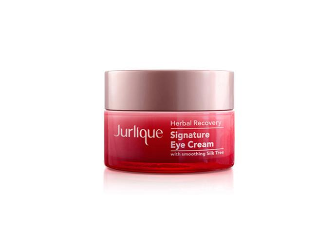 "**Herbal Recovery Signature Eye Cream, $65 at [Jurlique](https://www.jurlique.com.au/herbal-recovery-signature-eye-cream|target=""_blank""