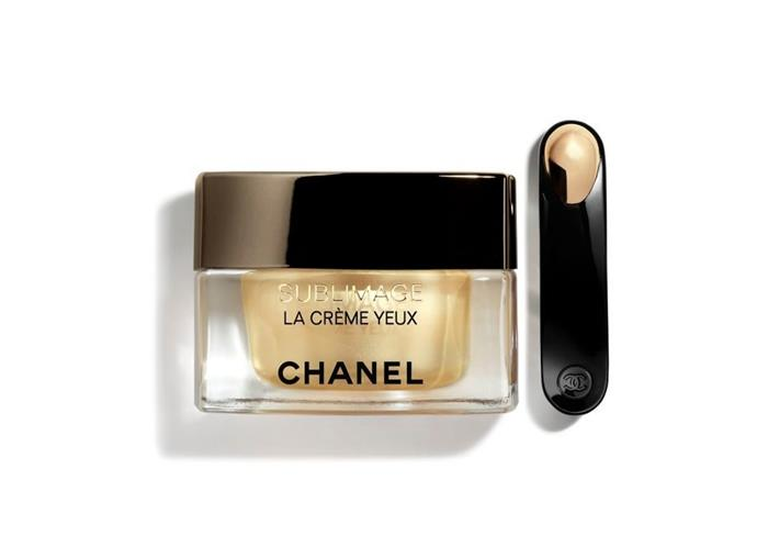 "**Sublimage La Créme Yeux Ultimate Revitalisation Cream by Chanel, $270 at [David Jones](https://www.davidjones.com/Product/21030564?|target=""_blank""