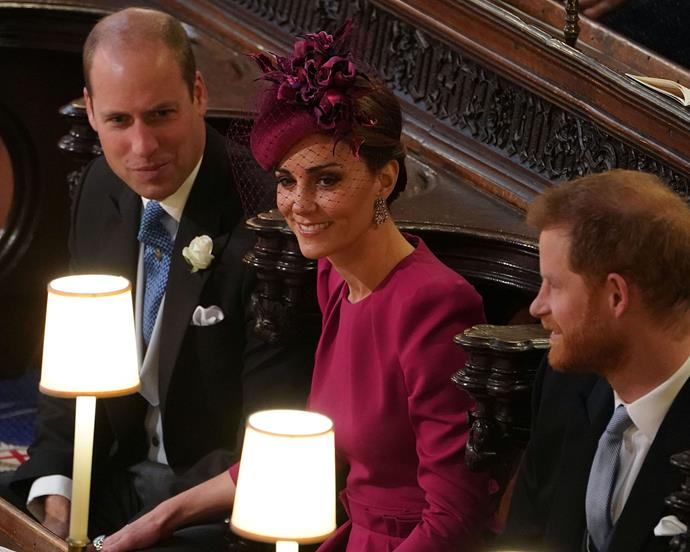 "***Occasional hand-holding*** <br> On the rare occasion that William and Kate do hold hands (as royalists witnessed recently at [Princess Eugenie's wedding](https://www.elle.com.au/fashion/princess-eugenie-wedding-celebrity-guests-18783|target=""_blank"")), they couldn't be more adorable.  <br><br> Some body linguists think this has to do with the couple being content as new parents, with Judi James recently telling [*The Sun*](https://www.thesun.co.uk/fabulous/7561255/prince-william-kate-middleton-body-language-changed-meghan-markle/