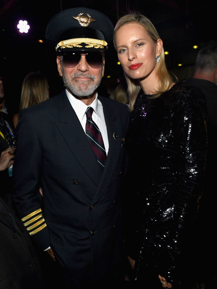 George Clooney as a pilot.