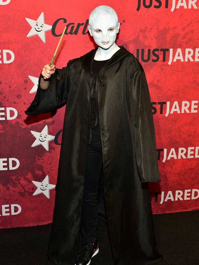 Joey King as Voldemort.