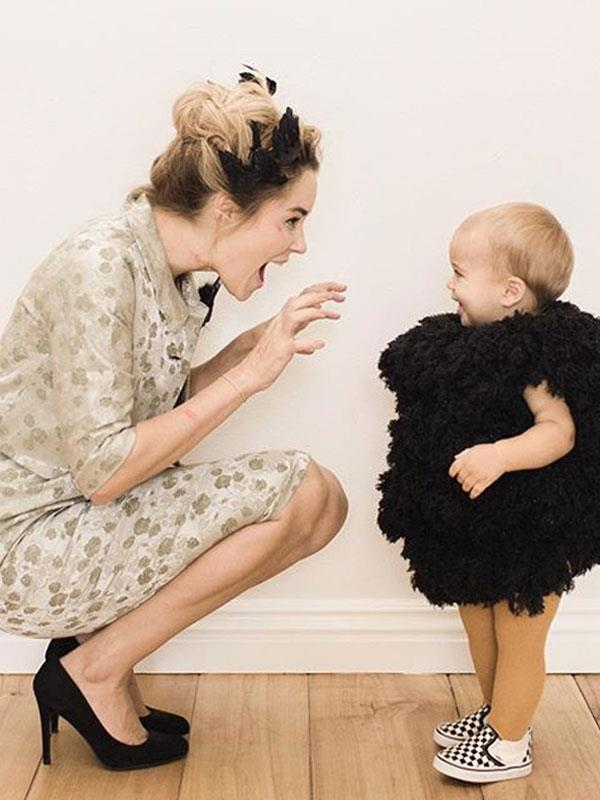 Lauren Conrad and her son Liam Tell.