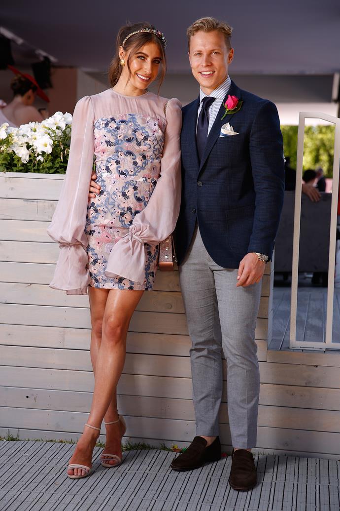 Rebecca Harding and Dalton Graham