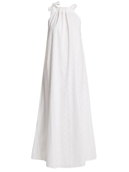 "*'Camille' maxi-dress by Kalita, $891 at [MATCHESFASHION](https://www.matchesfashion.com/au/products/Kalita-Camille-maxi-dress-1206969|target=""_blank""