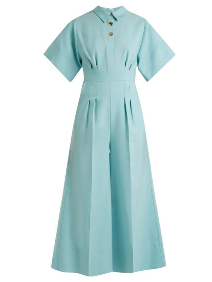 "*'Kalisto' jumpsuit by Roksanda, $967 at [MATCHESFASHION](https://www.matchesfashion.com/au/products/Roksanda-Kalisto-wool-blend-jumpsuit--1155237|target=""_blank""|rel=""nofollow"")*"