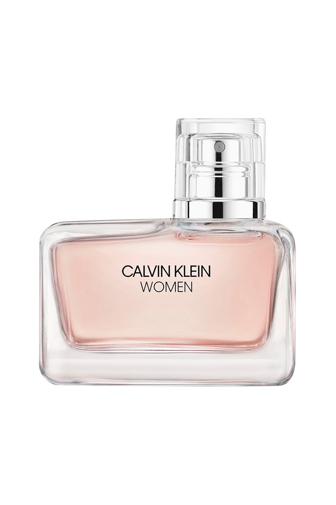 "<strong>For The Classic Wedding:</strong> <br><br>This delicate fragrance is perfectly suited to a hopeless romantic with its layering of flower petals, fresh eucalyptus and Alaskan cedarwood. You've heard of something old, something new, something borrowed and something blue ... this can be your something pink.<br><br>Clavin Klein Woman EDP, $100 for 50ml, [Calvin Klein](https://www.myer.com.au/p/calvin-klein-women-women-edp-637543810-1|target=""_blank""