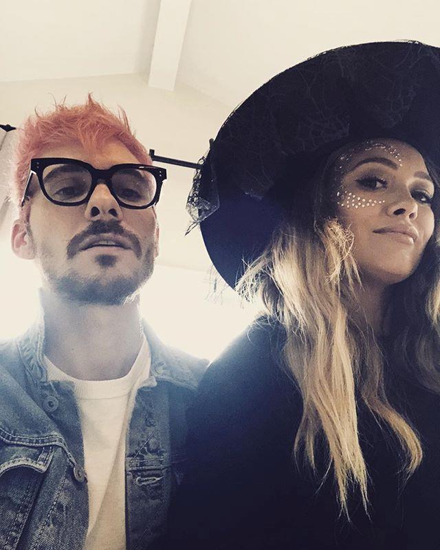 Hilary Duff and boyfriend Matthew Koma.