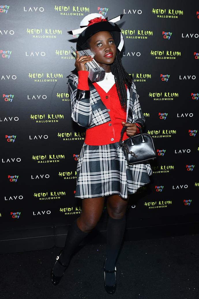 Lupita Nyong'o as Dionne from *Clueless*.