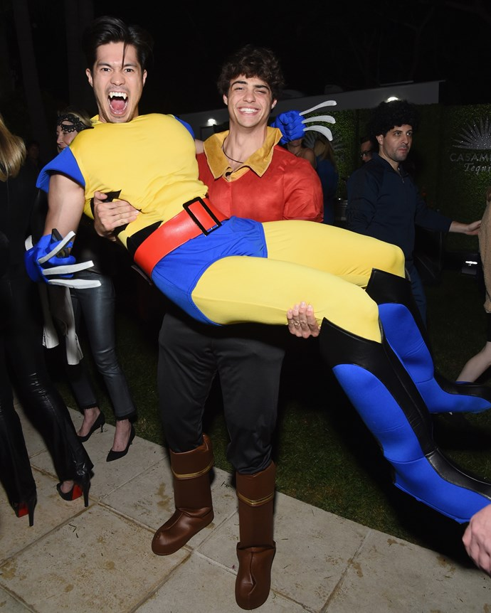 Noah Centineo and Ross Butler.