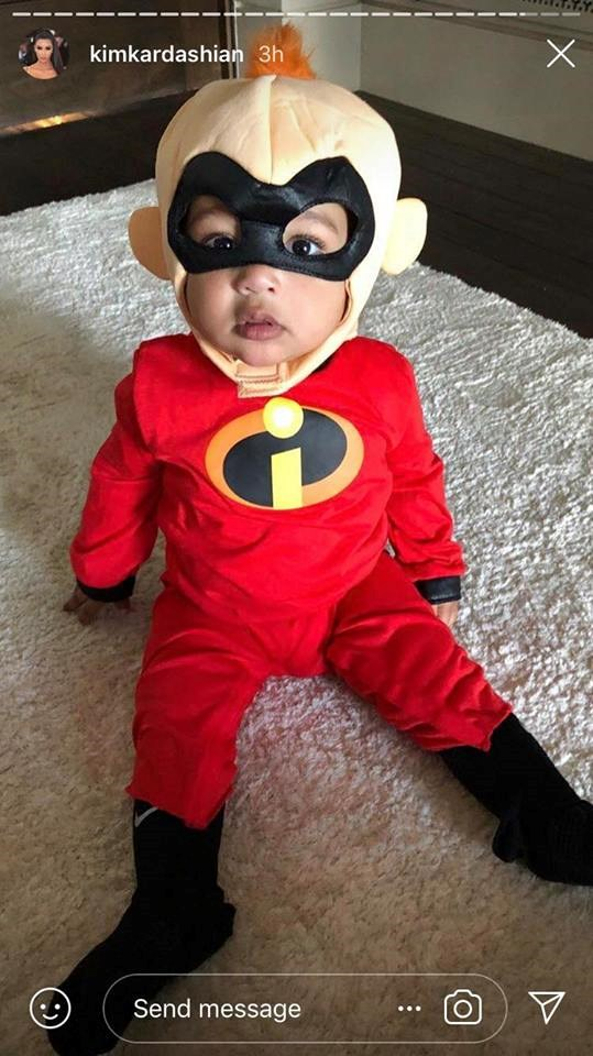 Chicago West as Jack Jack from *The Incredibles.*