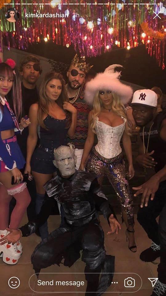 Kim Kardashian as Pamela Anderson.