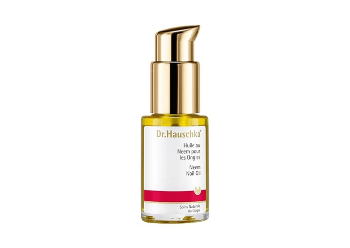 "Neem Nail Oil by Dr. Hauschka, $34 at [David Jones](https://www.davidjones.com/Product/20199602/Neem-Nail-Oil-4ml|target=""_blank""