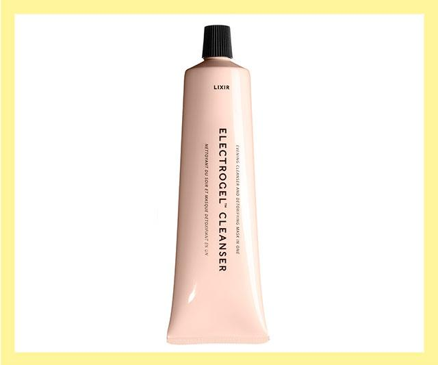 "A 2-in-1 cleanser/mask that gets rid of end-of-day grime (including sunscreen) and gets added bonus points thanks it its high-tech, negatively-charged formula that gets rid of positively-charged toxins, like pollutants and ageing free-radicals in a matter of minutes. <br><br> Electrogel Cleanser by Lixir, $46 by at [Sephora](https://www.sephora.com.au/products/lixir-electrogel-cleanser/v/default?q=elec|target=""_blank""