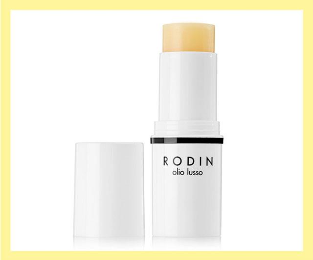 "Fans of Rodin's iconic oils will like this lightweight, portable version. Packed with 11 nourishing oils, it melts into skin for a moisture top-up at the end of the day, on holiday, or on-the-go. Keep in your clutch to use it as a highlighter, eye gloss and cuticle repair stick, too. <br><br> Luxury Face Oil Stick by Rodin, approx. $126 at [Net-a-Porter](https://www.net-a-porter.com/au/en/product/1126254/rodin/luxury-face-oil-stick---jasmine---neroli--11g|target=""_blank""