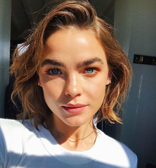 """**The Effortless Chop, as seen on Bambi Northwood Blyth:** """"We love Bambi's unfussy, uncomplicated, effortless chop and think this look will be a key trend,"""" Martin said. Push it over to one side for an easy, eye-catching look."""