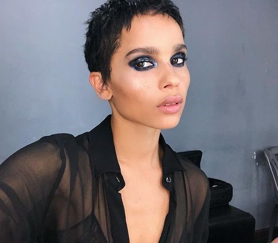 """**The Pixie, as seen on Zoë Kravitz:** """"What my clients want when they go the shorter length is softness, texture and a cut that still looks feminine always but a touch of rebelliousness for good measure,"""" said Anthony Nader of [RAW Hair](http://rawhair.com.au/