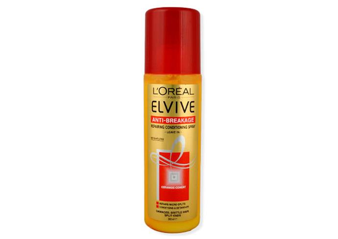 """**Half-up look** <br><br> **Try**: L'Oreal Elvive Anti-Breakage Conditioning Protect Spray, $5 at [Cosmetic Capital](https://www.cosmeticcapital.com.au/loreal-elvive-leave-in-repairing-conditioning-spra