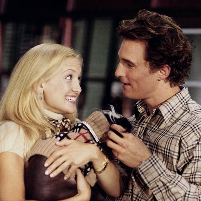 ***How To Lose A Guy In 10 Days:*** Another Kate Hudson classic in which she pairs up with Matthew McConaughey, an executive trying to woo her for a bet, while she tries to lose him for a magazine story.