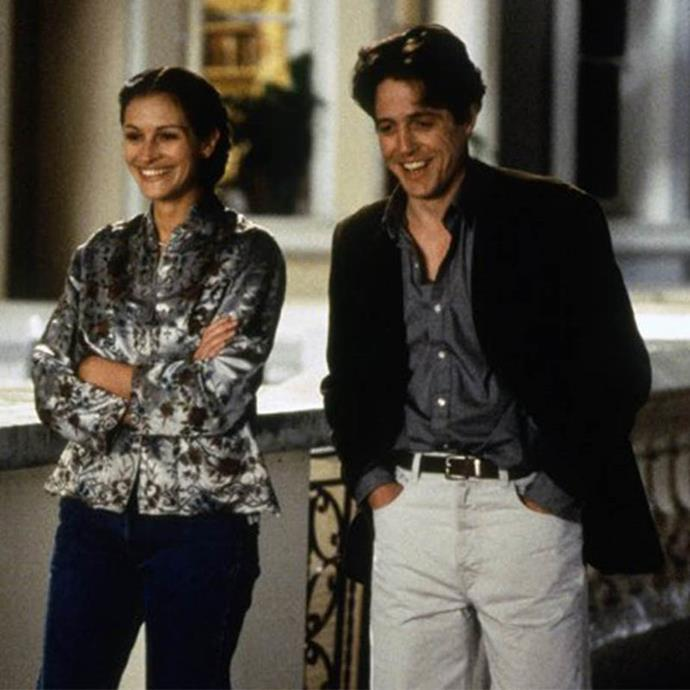 ***Notting Hill:*** If you haven't seen this classic yet, consider it required viewing. Hugh Grant plays an average guy who falls in love with a movie star, played by the ever-lovable Julia Roberts.