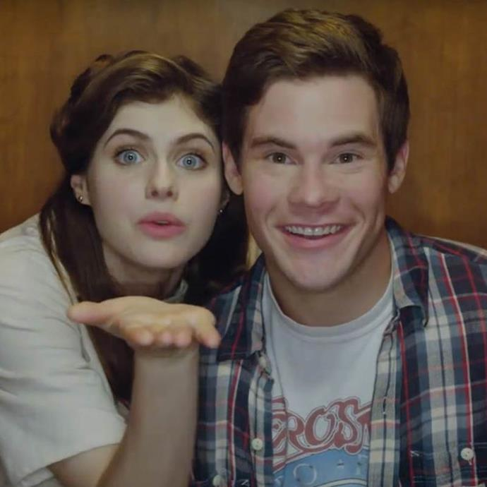 ***When We First Met:*** Starring *Baywatch*'s Alexandra Daddario and *Pitch Perfect*'s Adam DeVine, *When We First Met* tells the story of Noah (DeVine), who uses a magical, time-travelling photo booth to revisit the night he first met his crush, Avery (Daddario), in an effort to convince her to fall for him.